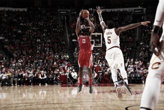 James Harden. Fonte: Houston Rockets/Twitter