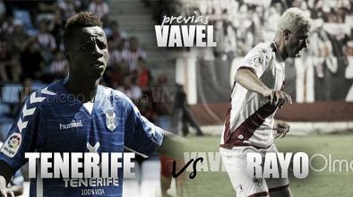 Previa CD Tenerife - Rayo Vallecano: cambio de dinámica a domicilio