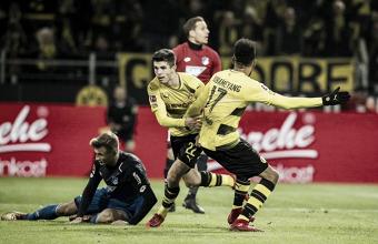 El Dortmund asalta la tercera posición