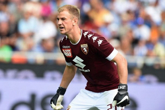 Joe Hart saluta il Torino