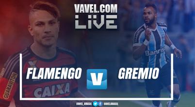 Resultado Flamengo x Grêmio no Campeonato Brasileiro (0-1)