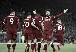 Com dois gols de Salah, Liverpool vence Southampton e encosta do grupo da Champions League