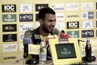 """Jonathan Viera: """"Voy a salir a jugar porque me gusta y porque quiero ayudar al equipo"""""""