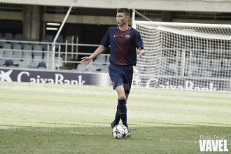 Jorge Cuenca debuta con el Barça B