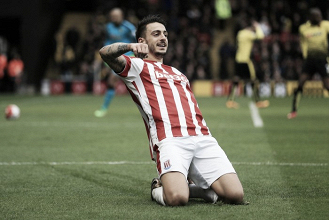 Watford 1-2 Stoke City: Walters and Joselu strike for Stoke