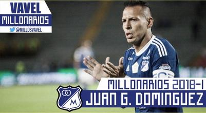 Millonarios 2018-I: Juan Guillermo Domínguez