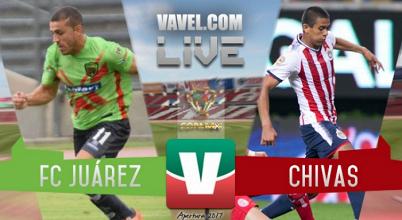 Resultado y goles del Juárez 0-1 Chivas de la Copa MX 2017