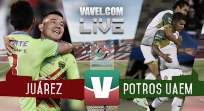 Resultado y goles del FC Juárez vs PotrosUAEM (3-2) Global (4-3)