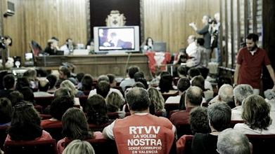 La Generalitat anuncia el cierre de RTVV tras ser nulo el ERE