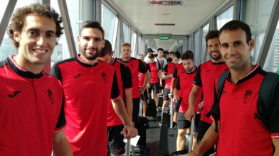 El Granada CF comienza su 'stage' de pretemporada en Holanda