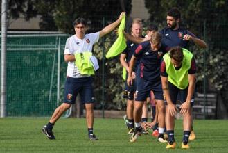 Genoa, Juric prepara la sfida al Napoli