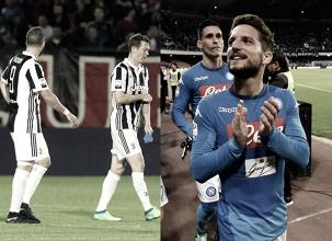 Juventus tropeça, Napoli vence e coloca fogo na reta final da Serie A