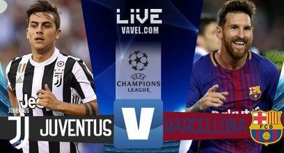 Champions League: Juventus-Barcellona in diretta LIVE (20.45)