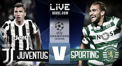Terminata Juventus - Sporting, LIVE Champions League 2017/18 (2-1): Gol di Pjanic e Mandzukic