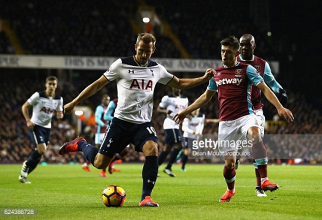 West Ham United vs Tottenham Hotspur Live Stream Score Commentary in Premier League 2017