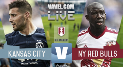 Sporting Kansas City vs New York Red Bulls en vivo online en Final U.S. Open Cup 2017