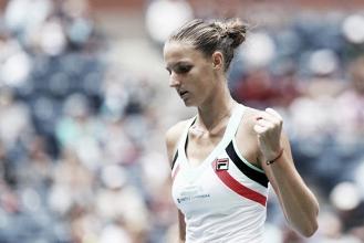 Top 10 Grand Slam Matches of 2017: #10 - Karolina Pliskova narrowly avoids the upset against Zhang Shuai