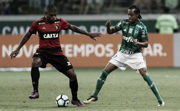 Com dois gols de Deyverson, Palmeiras goleia Sport e garante vaga no G-4