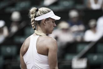 Makarova anula a una Kerber inexistente