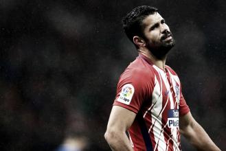 Diego Costa sofre lesão muscular e desfalca Atlético de Madrid por até dez dias