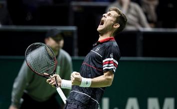 Klizan pasó a cuartos de final en el ATP Munich