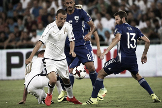 Italia 1-0 Israel: Immobile salva los tres puntos para la 'azzurra'