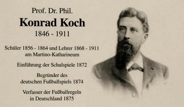 Konrad Koch, padre del fútbol alemán