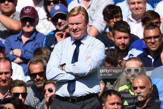 Ronald Koeman says Everton still need to add a striker before the transfer window closes