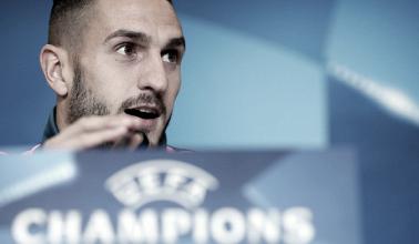 """Koke: """"Nosotros tenemos que pensar en nosotros, que es lo que nos mantiene vivos en la Champions"""""""