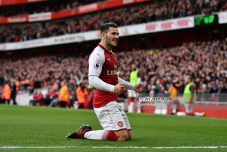 Sead Kolasinac voted Arsenal Player of the Month for October