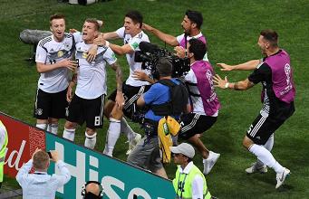 Germania, il cuore d'acciaio batte ancora | www.twitter.com (@ToniKroos)