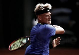 Nicola Kuhn cae ante Young en su primer partido ATP