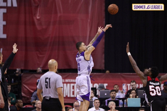 NBA Summer League, Las Vegas - Kuzma e le triple dei Lakers mandano al tappeto Portland