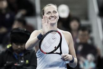 Kvitova accede con autoridad a semifinales