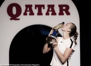 WTA Doha: Petra Kvitova's incredible run ends on a high note; defeats Garbiñe Muguruza