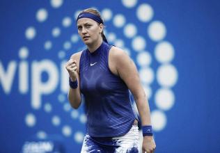 Kvitova, a la final en Birmingham tras la retirada de Safarova