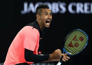 Le journal de l'Australian Open - Day 5 : Kyrgios, les nerfs solides