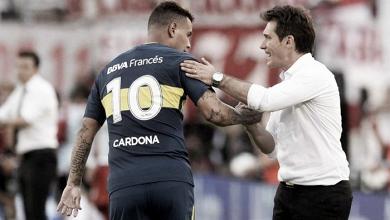 """Guillermo Barros Schelotto: """"Siempre es fantástico ganarle a River"""""""