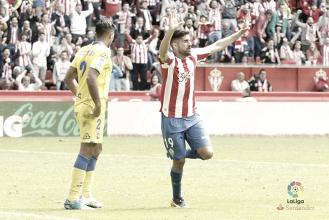 R. Sporting - UD Las Palmas: puntuaciones de la UD Las Palmas, jornada 36 de Primera División