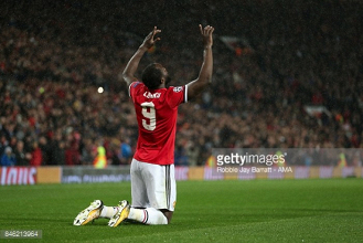Romelu Lukaku delighted to score on Champions League debut for Man United