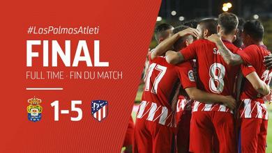 L'Atlético écrase Las Palmas et se rassure