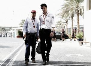 """Lauda, sobre Hamilton: """"Ha estado fantástico"""""""