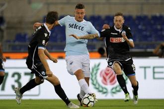 La Lazio sbatte sul muro eretto dalla Spal. Finisce 0-0