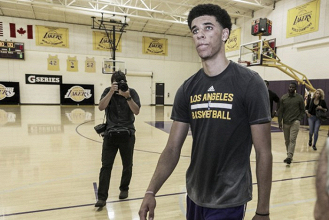 NBA Draft, Lonzo Ball freme per i Los Angeles Lakers