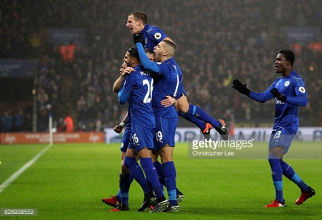 Leicester City 4-2 Manchester City: Vardy party reignited with match-winning hat-trick