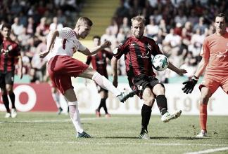 RB Leipzig goleia SF Dorfmerkingen e avança sem sustos na Copa da Alemanha