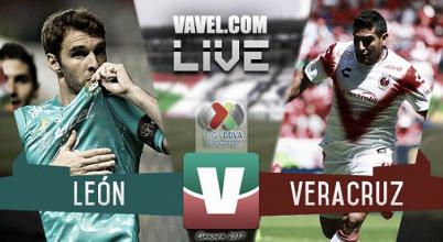 Resultado y goles del León vs Veracruz de la Liga MX 2017 (4-0)