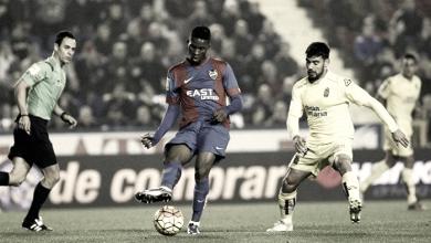 Resumen UD Las Palmas vs Levante UD en La Liga 2017 (0-2)