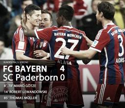 Le Bayern écrase Panderborn sans forcer