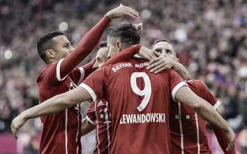 Bayern gana con dobletes de Lewandowski y Robben